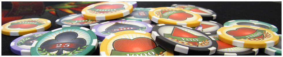 Custom Poker Chips Header: Impressum / Bestimmungen